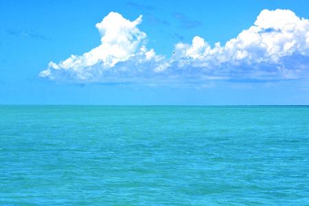 sunny day: terreno en froath M�xico y espuma azul del mar caer ola d�a soleado Foto de archivo