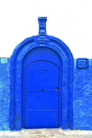 casbah: historical in     antique building door morocco      style africa   wood and metal rusty