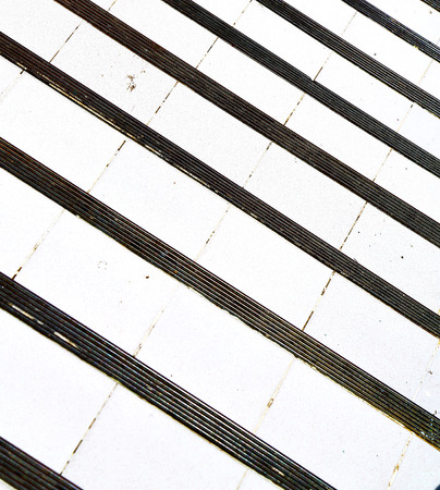 rail cross: thailand abstract cross colors step rail  wat  palaces in the temple kho phangan asia Stock Photo