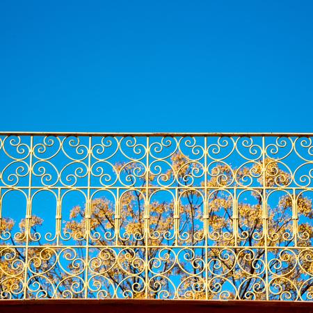 baranda para balcon: abstract terrace in morocco africa and   the sky