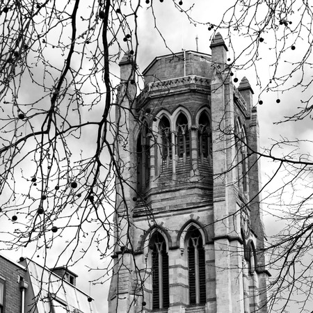 notting hill: in notting hill england europe old construction    and  history