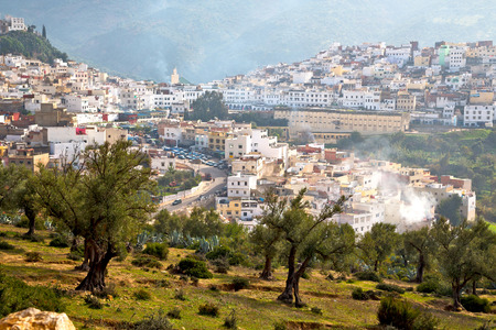 house with style: old city in morocco africa land home and landscape valley
