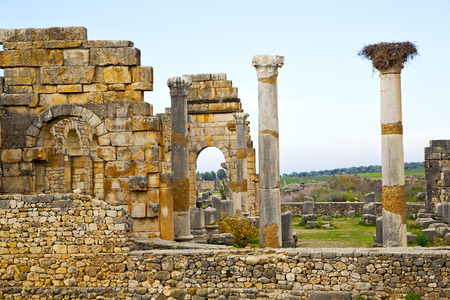 dorian: old roman site in africa