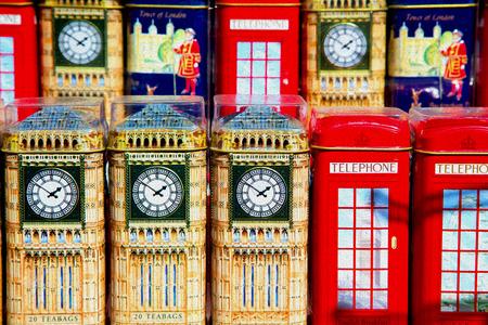 memorabilia: souvenir         in england london obsolete  box classic british icon Stock Photo
