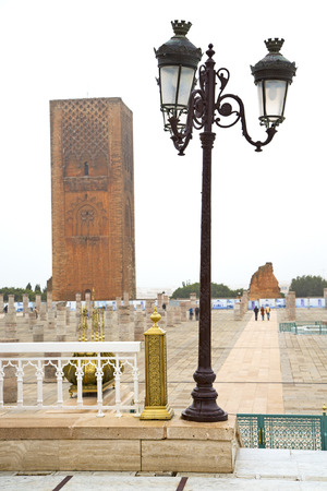 dorian: chellah    in morocco   africa the old roman deteriorated monument and site