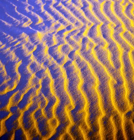 desert sand: the brown sand dune in the sahara morocco desert