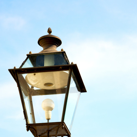 europe in the sky of italy lantern and   abstract illumination Banque d'images