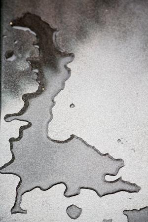 reflexion: en una reflexi�n coche y fondo gota desenfoque