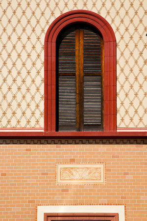 store venitien: abbiate varese italy abstract  window   in the church and venetian blind