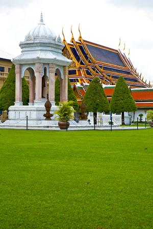 krung: kho samui bangkok in thailand incision of the buddha gold      temple Editorial