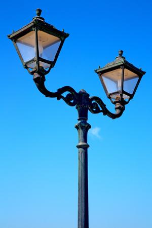 europe in    the sky of italy lantern    and   abstract illumination Stock Photo
