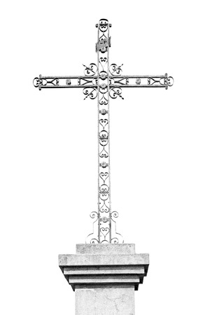 abstract cross: abstract     cross in   italy europe and the sky background