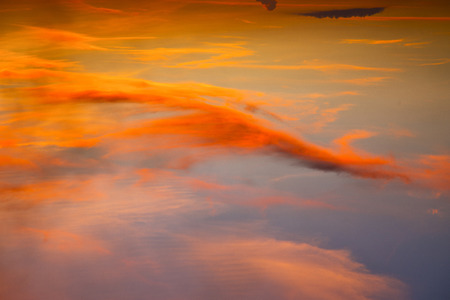 tao: sunrise cloud and sky in thailand kho tao bay coastline Stock Photo