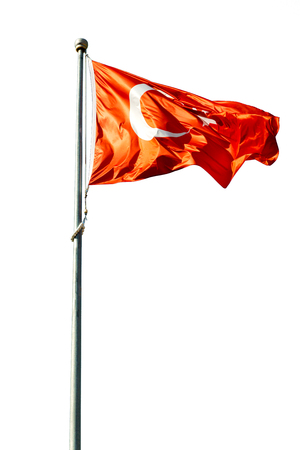 covenant: waving flag in the blue sky world  colour and wave Stock Photo