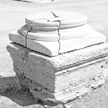 templo romano: asia  greece and  roman    temple   in  athens the    old column  stone  construction Foto de archivo