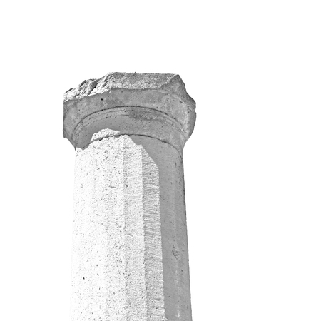 Roman temple: asia greece and  roman temple   in  athens the    old column  stone  construction