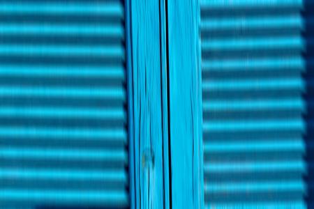 santorini greece: in   santorini  europe greece   old      architecture and venetian blind wall Stock Photo