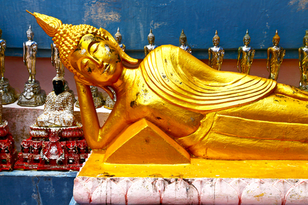 siddharta  in the temple bangkok asia   thailand abstract cross        step    wat