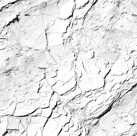 to rub: old desert and the abstract cracked sand texture  in oman    rub  al khali