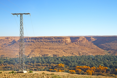 telephone poles: utility pole in africa morocco energy and distribution pylon