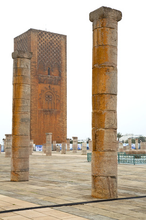 deteriorated: chellah    in morocco africa the old roman deteriorated monument and site Editorial