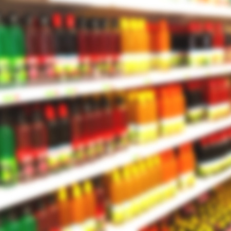 consumer products: in iran abstract supermarket blurred like lifestale concept and consumer products