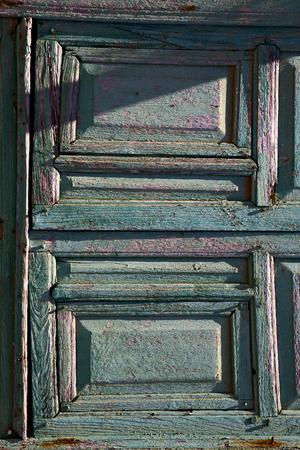 rusty nail: spain abstract door lanzarote  door in the light green