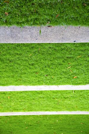 thailand asia  abstract cross garden grass in the temple  bangkok