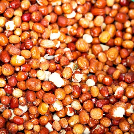 desenfoque en Irán antiguo bazar de especias ingrediente mercado de alimentos de hierbas exóticas