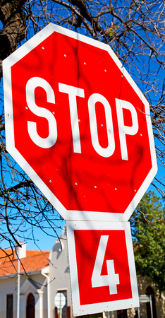 the stop signal write  in south africa  and sky