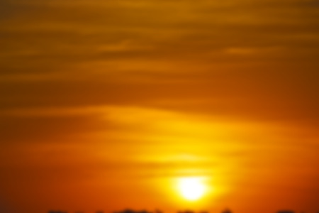 blur  in south africa red sunset in the cloud like abstract background Stock Photo