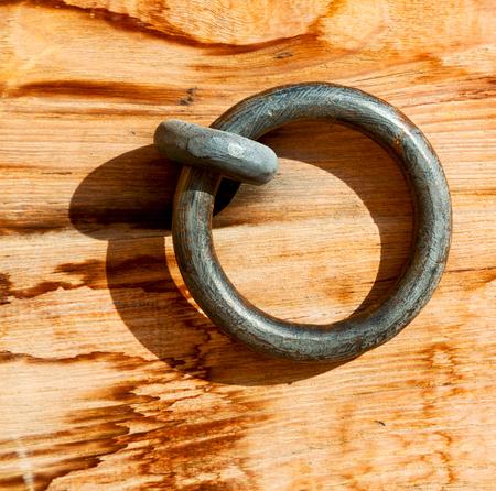 door knob: in oman antique door entrance and      decorative handle for background Stock Photo