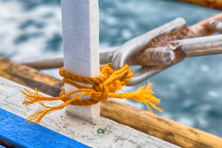 blur  in   philippines  a rope in  yacht accessory  boat  like  background abstract