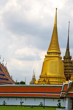 kho samui bangkok in thailand incision of the buddha gold      temple Editorial
