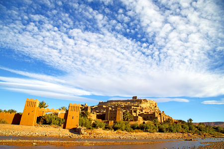 africa in morocco the old contruction and the historical village