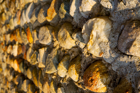 milan      in italy old church concrete wall  brick   the    abstract  background  stone Stock Photo