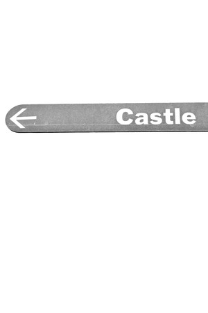 to warn: blur in south africa close up of the castle sign like    texture background Stock Photo