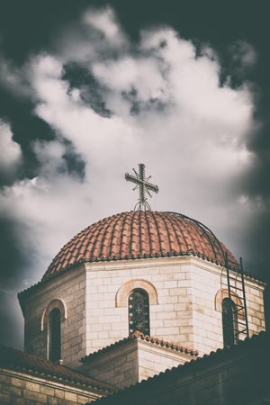 in amman jordan the chatolic church and the cross for religion