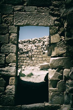 selenium: in jordan the old caste of ash shubak and his tower in the sky