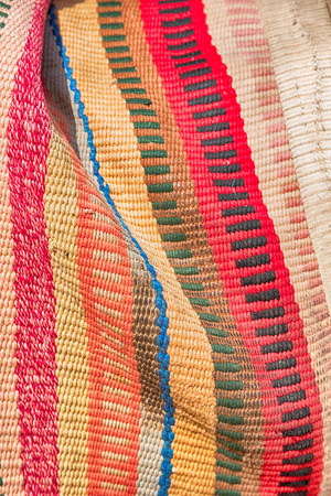 discolored: abstract texture of a colorful blanket patchwork like background