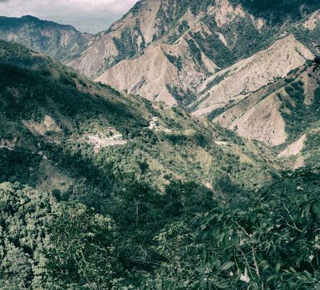 Desenfoque En Filipinas Campo Terraza Para Coultivation De