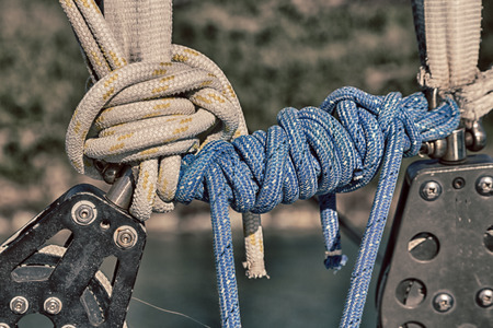 in  australia the concept of navigation whit vassel rope like background