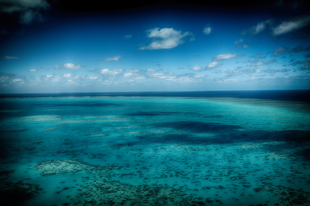in  australia natuarl park the great reef from the high concept of paradise Stock Photo