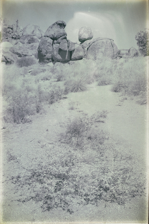 The rocks of devils marble in the northern territory