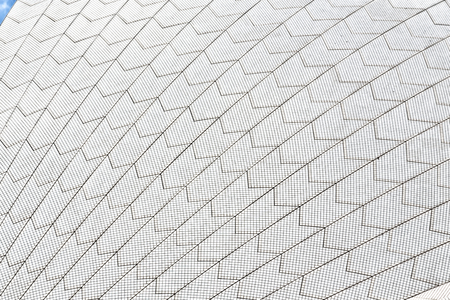 Background texture of a ceramic roof Stock Photo