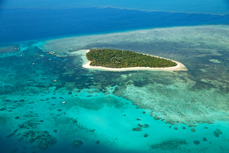 in australia natural park the great reef from the high concept of paradise