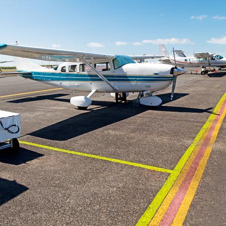 in crains austalia little popular  plane parking in the airport