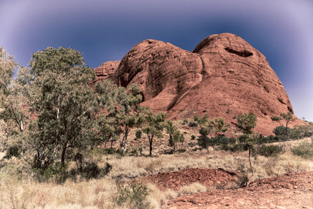 in  australia the concept of  wilderness environment in the landscape outback