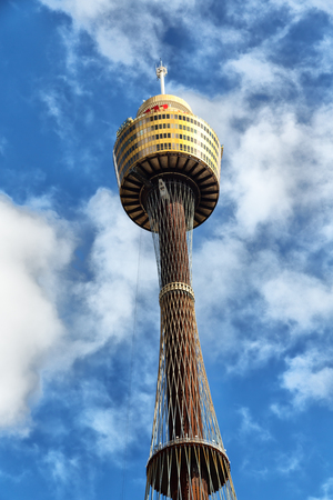 the view of the tower eye, in sydney australia