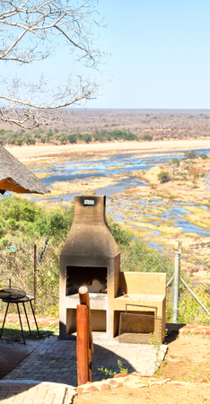 in south africa kruger park the lodge near the river